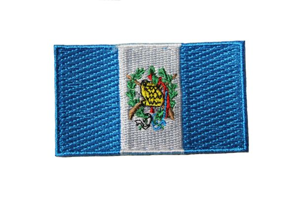 GUATEMALA Country Flag IRON ON PATCH CREST BADGE