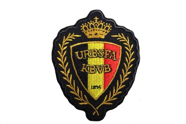 BELGIAN FOOTBALL FIFA SOCCER WORLD CUP EMBROIDERED IRON ON PATCH CREST BADGE