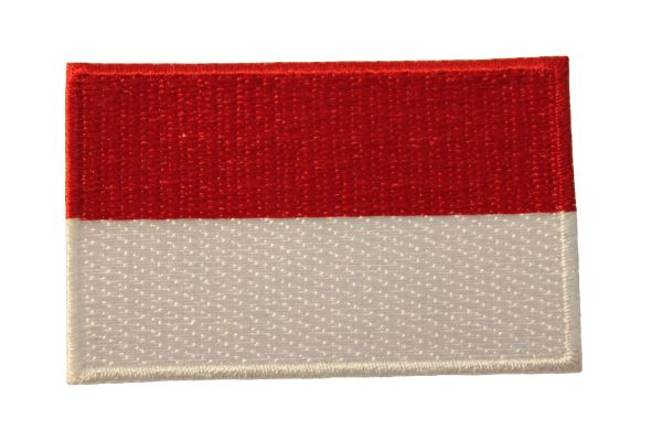 INDONESIA NATIONAL COUNTRY FLAG IRON ON PATCH