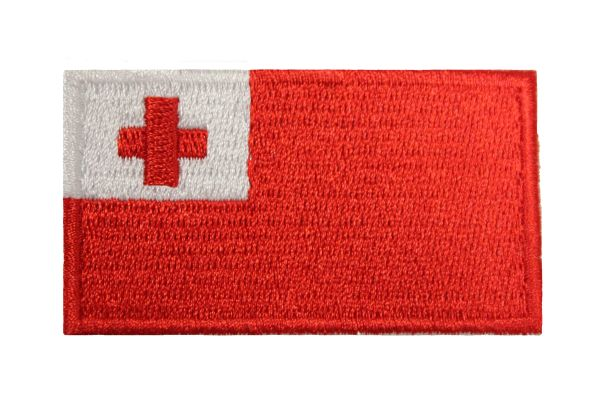 "Tonga Country Flag Embroidered Iron on Patch Crest Badge. Size : 1.5"" x 2.5"" Inch.New …"