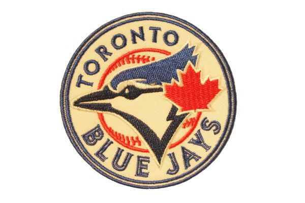 "TORONTO BLUE JAYS MLB Logo EMBROIDERED Iron - On PATCH CREST BADGE .. SIZE : 3"" INCH ROUND"