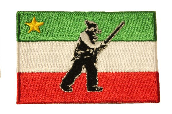 FRENCH PATRIOTE Flag Iron - On PATCH CREST BADGE