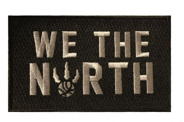 WE THE NORTH Extra Large Embroidered Iron - On PATCH CREST BADGE