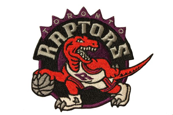 TORONTO RAPTORS Logo 1995/96 - 2007/08 Embroidered Iron - On PATCH CREST BADGE
