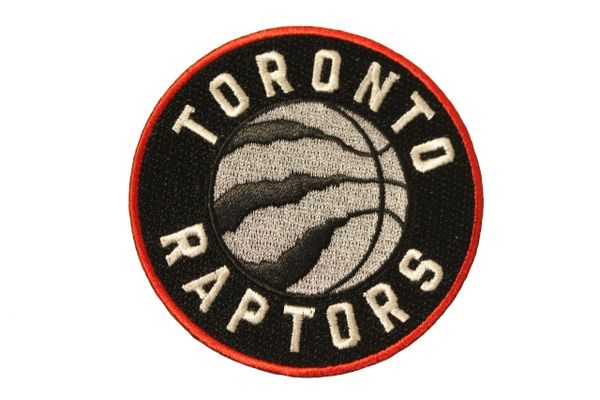 TORONTO RAPTORS Logo Embroidered Iron - On PATCH CREST BADGE