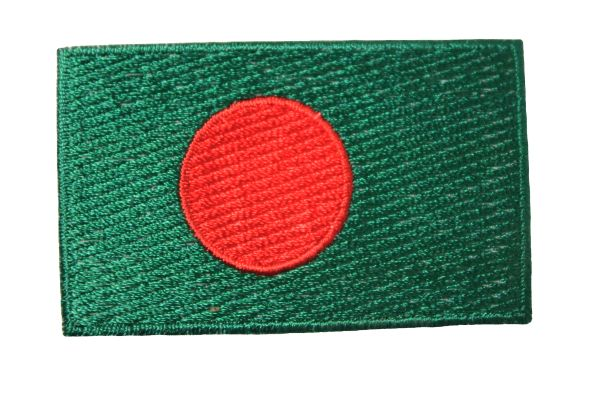 BANGLADESH Country Flag Iron On PATCH CREST BADGE