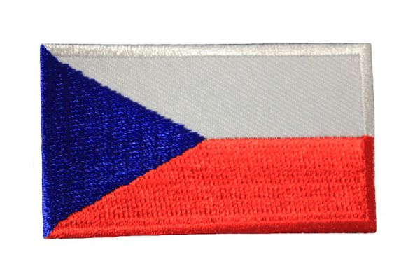 CZECH Republic Country Flag Iron On PATCH CREST BADGE