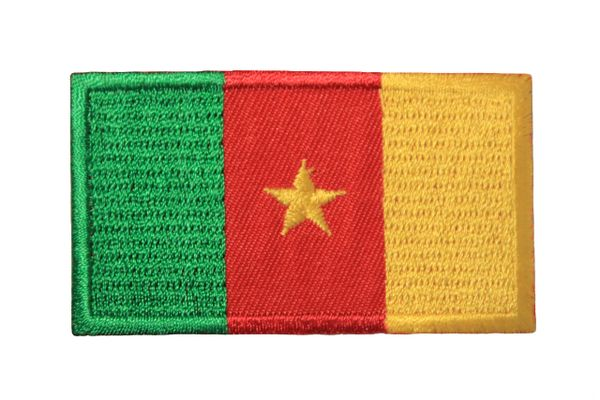CAMEROON Country Flag Iron On PATCH CREST BADGE