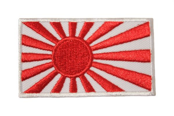 JAPAN Old COUNTRY FLAG IRON ON PATCH CREST BADGE