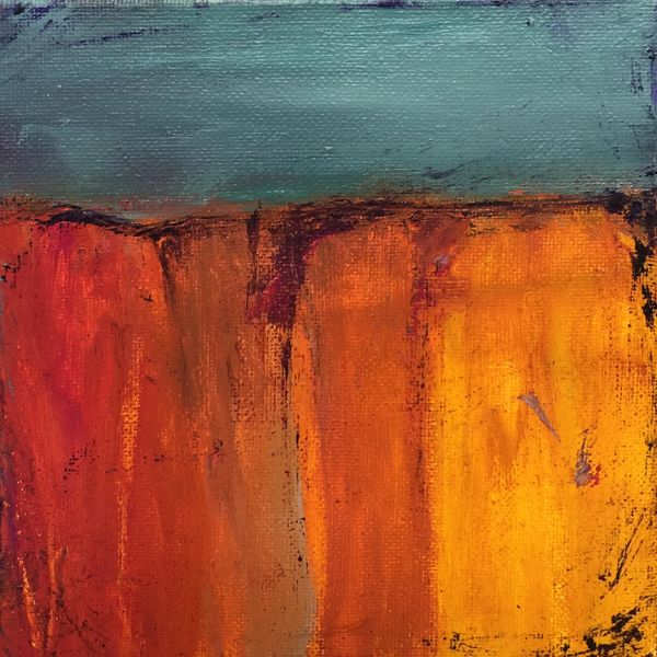 Sundrenched Canyon - Sold