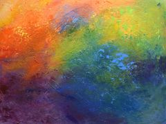 Rainbow Blue - Sold