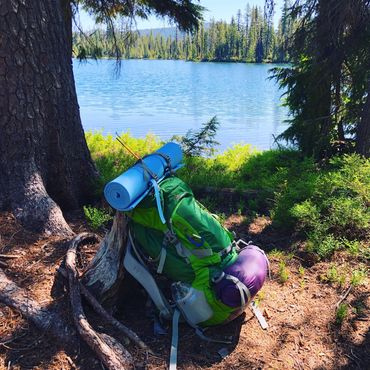 Backpacking at Margarate Lake in the Sky Lakes Wilderness Area with Mark Cobb