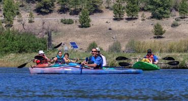 Guided Kayak Tour on The Wood River in Oregon with Sky Lakes Wilderness Adventures