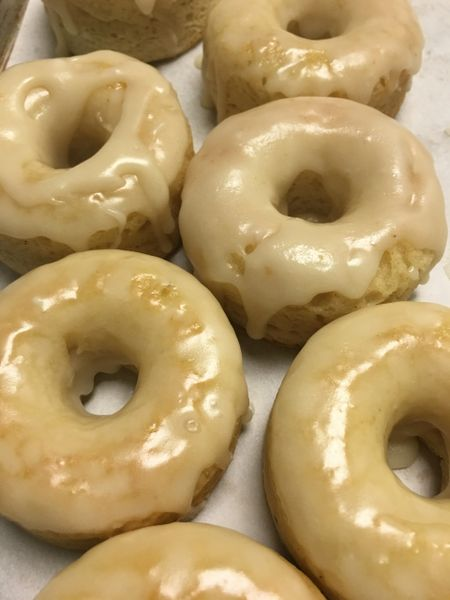 Vanilla Glazed Doughnuts 1/2 Dozen