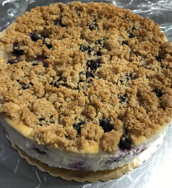 "LEMON-BLUEBERRY CHEESECAKE 6"" *IN-STORE PICK UP ONLY/NO SHIPPING"