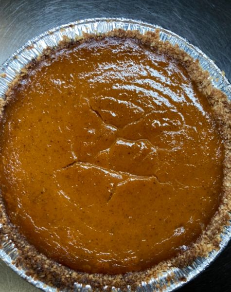 KETO PUMPKIN PIE *SHIPPED ORDERS MUST BE RECEIVED BY 11/20/2020