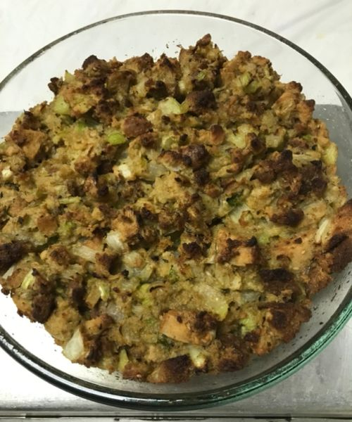 KETO STUFFING 1 LB (4 SERVINGS) - FOR SHIPPING, ORDERS MUST BE RECEIVED BY 11/15/2020