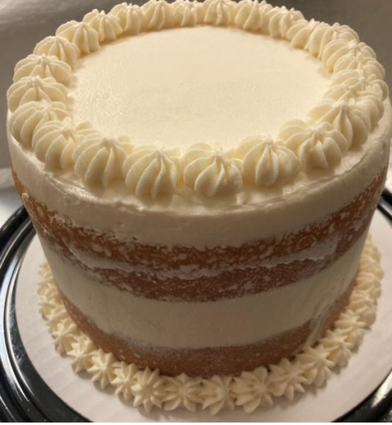 KETO VANILLA BIRTHDAY CAKE - CALL FOR SAME DAY ORDER PICK UP. *MAY TAKE 2-4 DAYS TO PROCESS. ADDITIONAL FEE for RUSH ORDERS