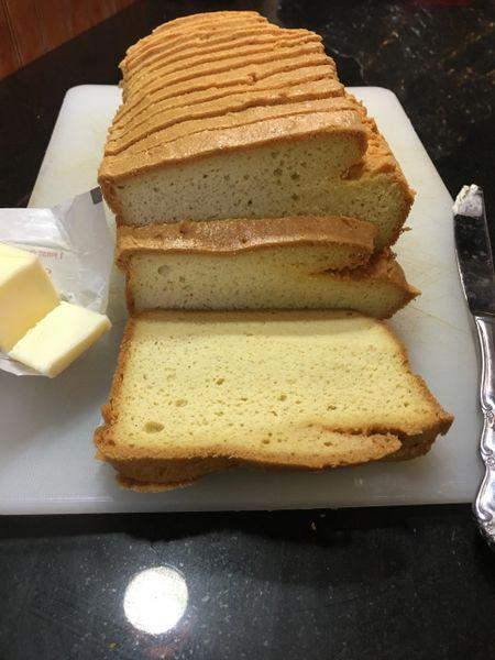 Low Carb Almond Flour Sandwich Bread Small