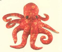 Octopus - Red