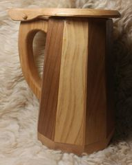Wooden Tankard Mug #1