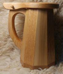 Wooden Tankard Mug #2