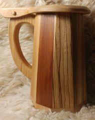 Wooden Tankard Mug #4