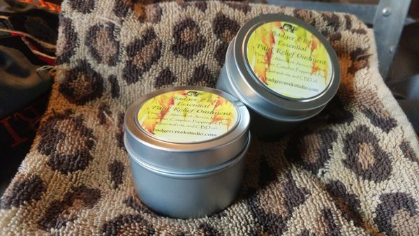 Essential Relief with CBD Salve 3 oz.