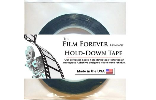 "Film Forever Hold-Down Tape for 8mm and Super 8mm Film (215 ft. 1/4""W Roll)"