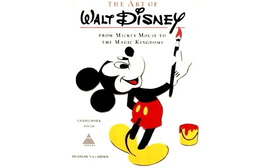 The Art of Walt Disney by Christopher Finch (Condensed Version - Hardback)