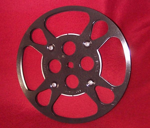 Goldberg Super 8mm 600 ft Metal Movie Reel
