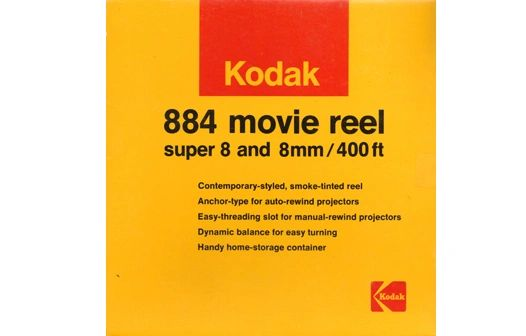 Kodak 884 Dual 8mm Movie Reel - 400 ft. (Limited Availability)