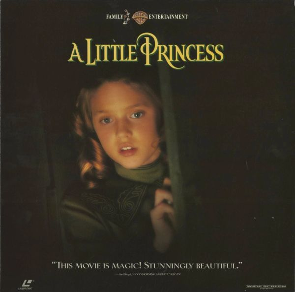 A Little Princess - Laserdisc