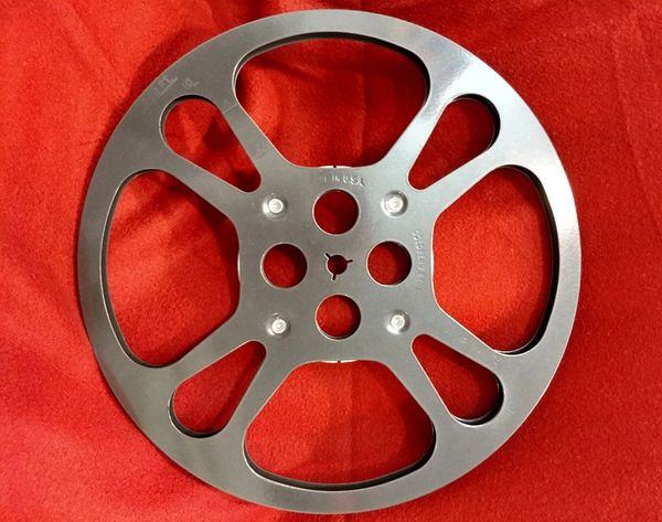 Goldberg Super 8mm 1200 ft Metal Movie Reel
