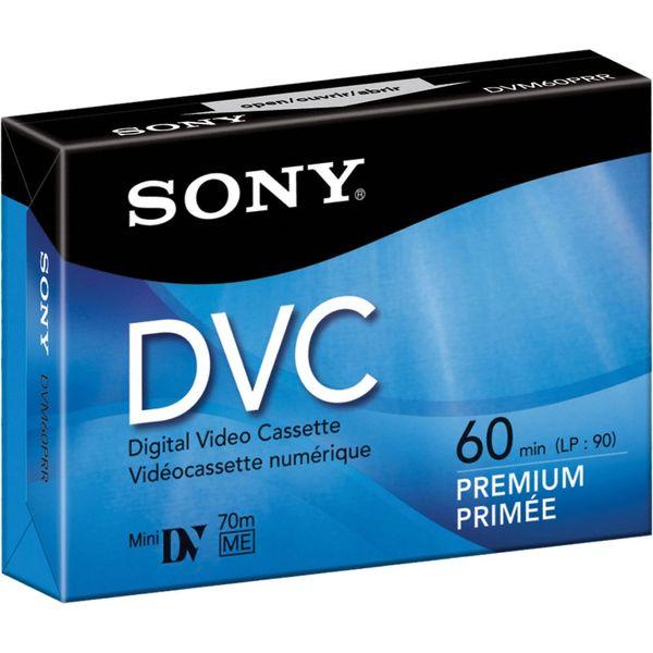 Sony Mini DV Digital Tape (60 minutes)