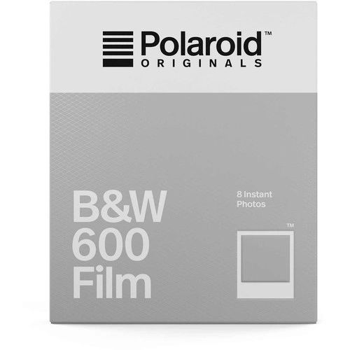 Polaroid Instant Black & White Print Film for the Polaroid 600 Camera