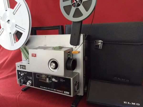 Elmo St-1200D Super 8mm Magnetic Sound Projector (Used - Completely Serviced with Elmo case!)