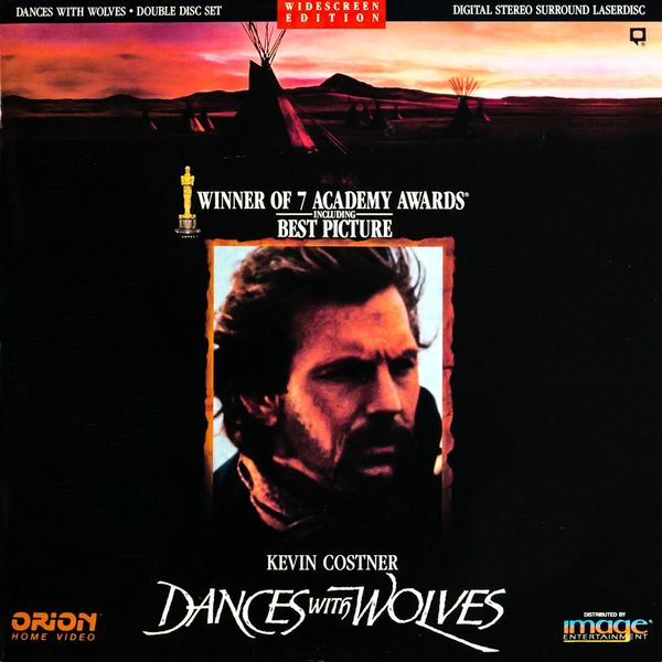 Dances with Wolves - 2-Disc Letterbox Edition Laserdisc (Brand New-Sealed)