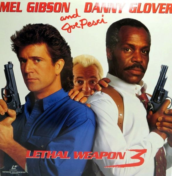 Lethal Weapon 3 - Letterbox Edition Laserdisc (Brand New-Sealed)