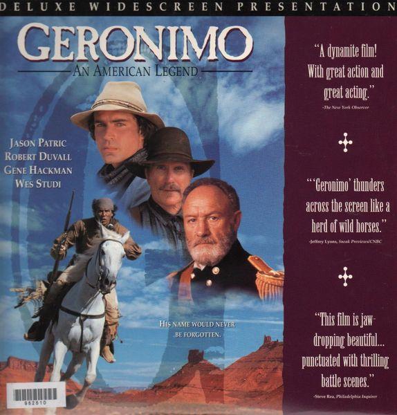 Geronimo - Deluxe Widescreen Laserdisc
