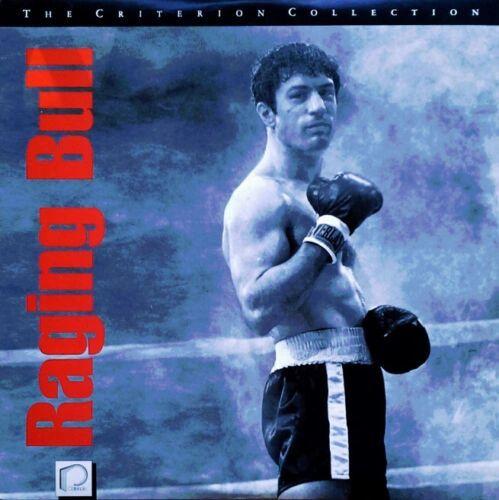 Raging Bull - Criterion CAV Laserdisc Box Set ('Brand New - Sealed')