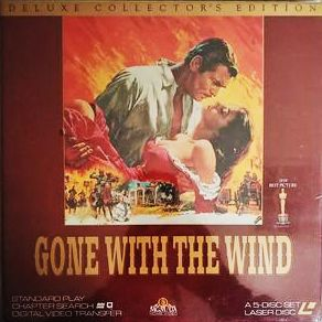 Gone with the Wind - CAV Laserdisc Box Set (Brand New - Sealed)