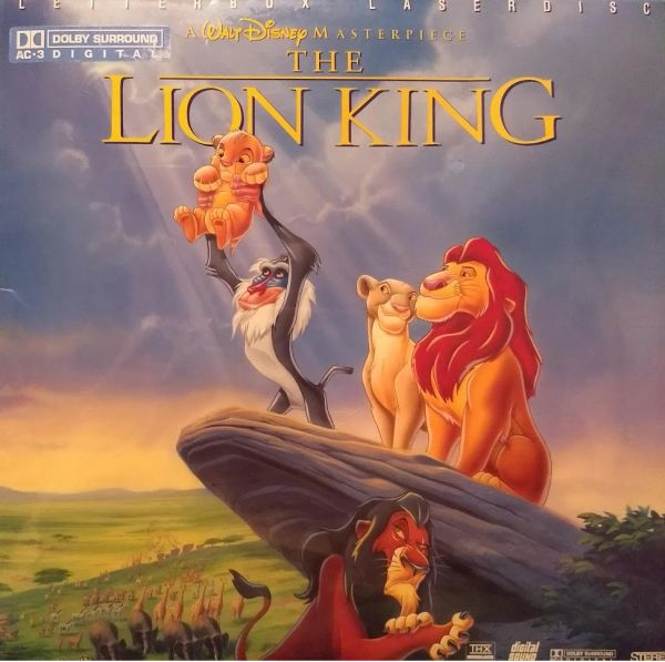 The Lion King - Brand New AC-3 Digital Laserdisc (sealed)