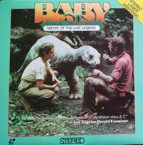 Baby, Secret of the Lost Legend - Stereo Laserdisc