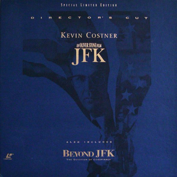 JFK (Director's Cut) - 'Brand New - Sealed' Laserdisc Box Set
