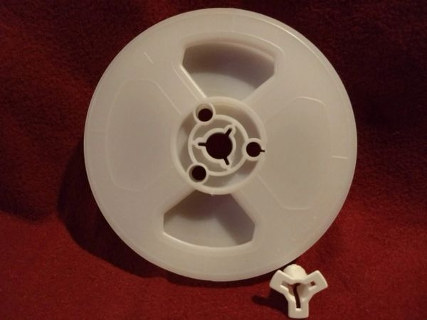 TayloReel Dual 8mm 200 ft 5 Inch Movie Film Reel