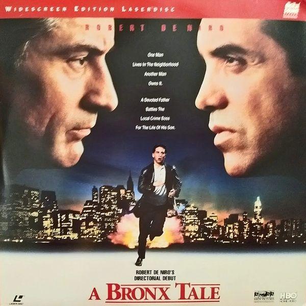 A Bronx Tale starring and directed by Robert DeNiro (Mint Widescreen Laserdisc)