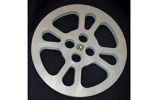 TayloReel 16mm 1200 ft. Plastic Movie Reel