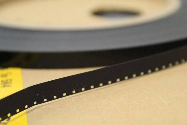 Kodak 'Classic' Black and White Acetate Movie Leader (Type 5981) - Super 8mm (Discontinued - Limited Supply)