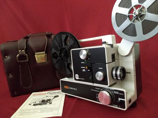 Eumig Mark 610D Movie Projector w/ Eumig Case and Daylight Viewer (Like New - Completely Restored!)